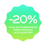 Badge 20% Summer DAYS